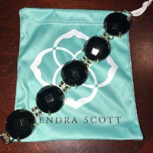 Kendra Scott Jewelry - Kendra Scott Cassie black bracelet EUC